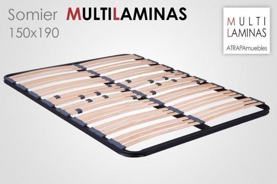 Somier Multiláminas 150X190