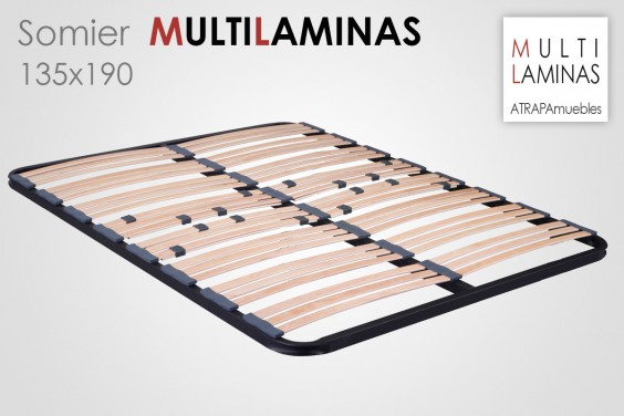 Somier Multiláminas 135X190