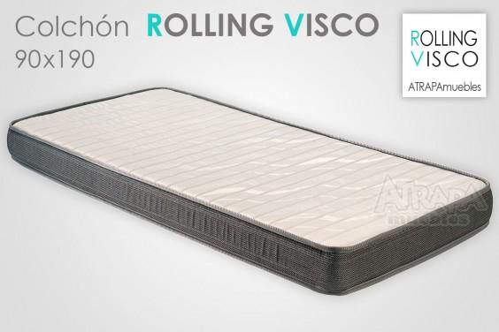 Colchón ROLLING VISCO 90x190