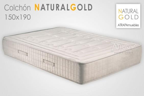 Colchón NATURAL GOLD 150x190