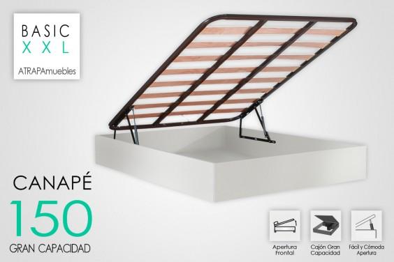 Canape 150x190 BASIC Blanco