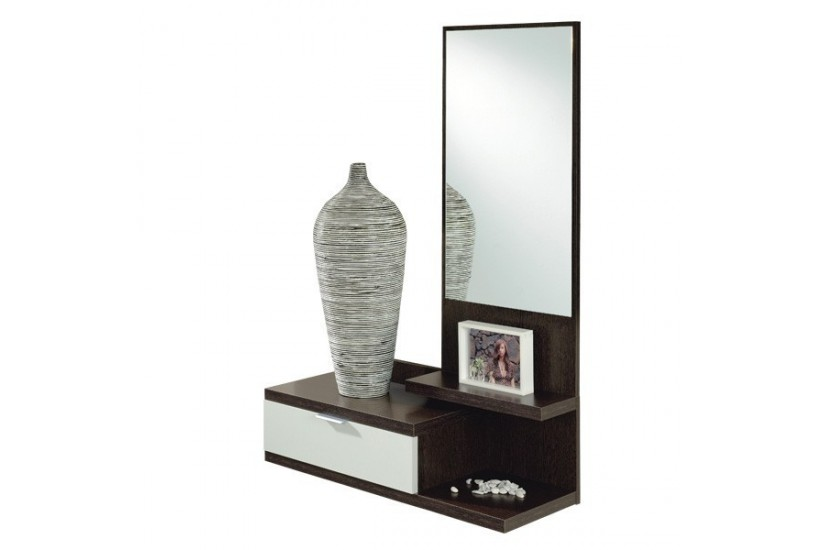 Mueble recibidor moderno dahlia al mejor precio for Precio de espejos grandes