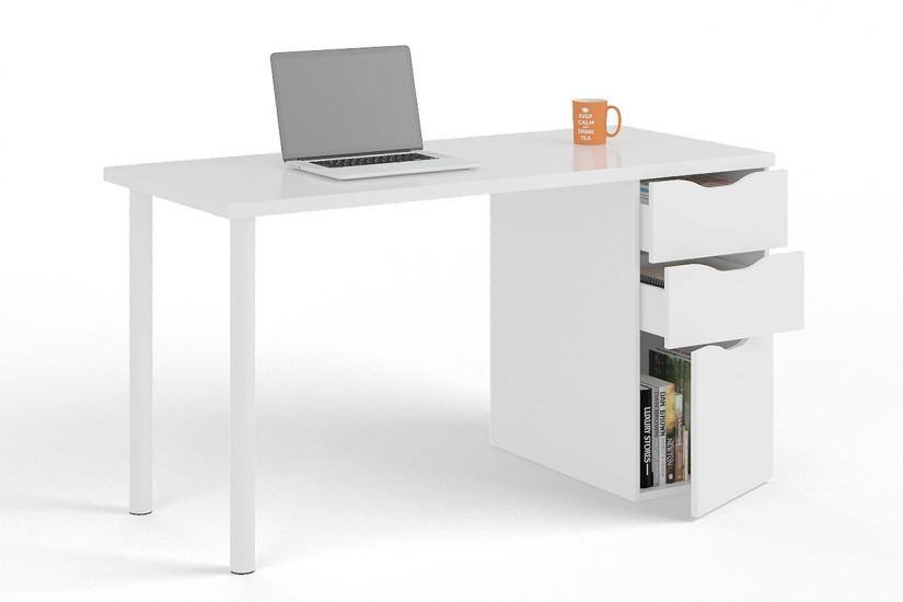 Mesa de ordenador con bandeja deslizable iplay al mejor precio for Mesa escritorio con cajones