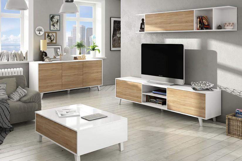 Muebles baratos online tiendas de muebles online - Mueble libreria para salon ...