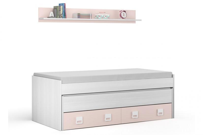 Top 28 cama doble juvenil nube muebles de dormitorio y - Dormitorio juvenil doble cama ...