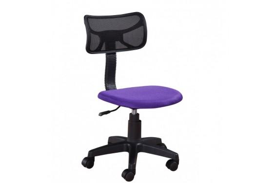 Silla Oficina Violeta y Negro