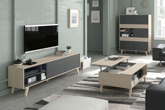 Muebles de sal n baratos muebles modernos atrapamuebles for Modulos muebles salon
