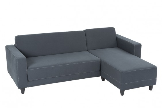 Chaiselongue ERIDAN Gris Reversible