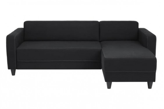 Chaiselongue ERIDAN Negro Reversible
