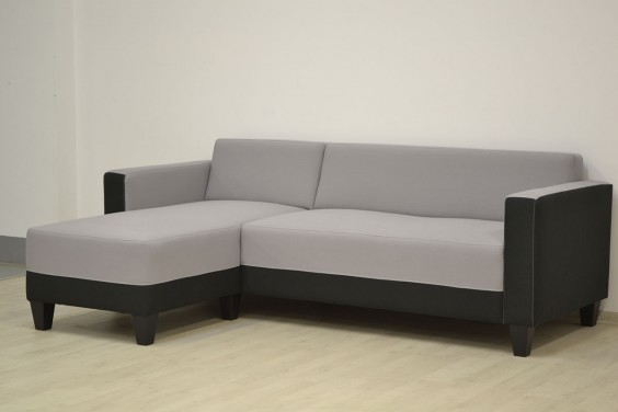 Chaiselongue INGEMAR Reversible Gris y Negro