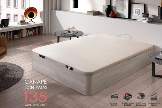 Canapé 135x190 MAYO Roble Nórdico