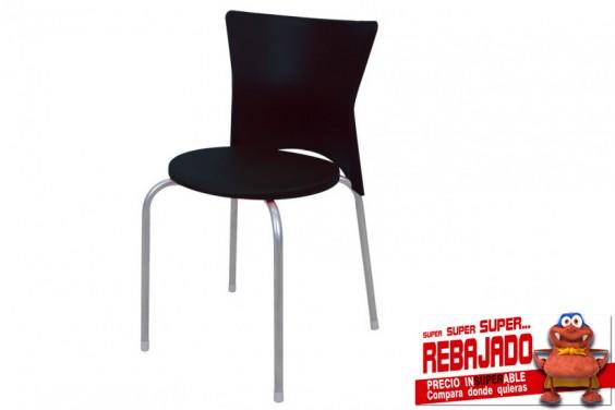 4 sillas STUDIO Negras