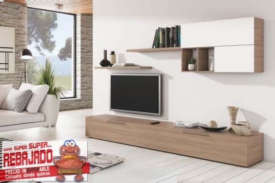 Muebles de salon baratos muebles de salon muebles for Muebles bajos de salon modernos