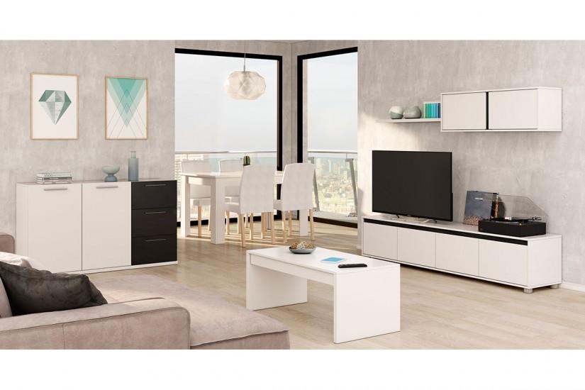 Tienda online de muebles al mejor precio muebles juveniles dormitorios salones y auxiliares - Mueble bar para salon ...