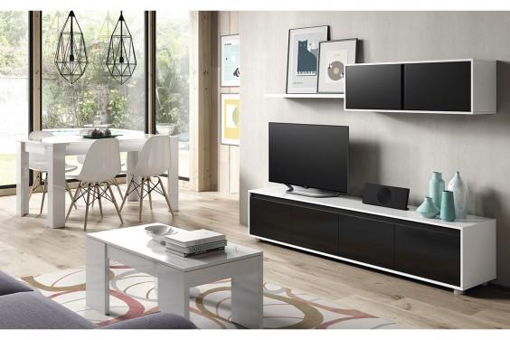 Muebles de sal n baratos muebles modernos atrapamuebles for Mueble salon logan 004