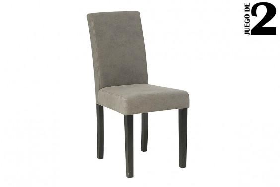 2 sillas salón SARA Gris 31€ /u.
