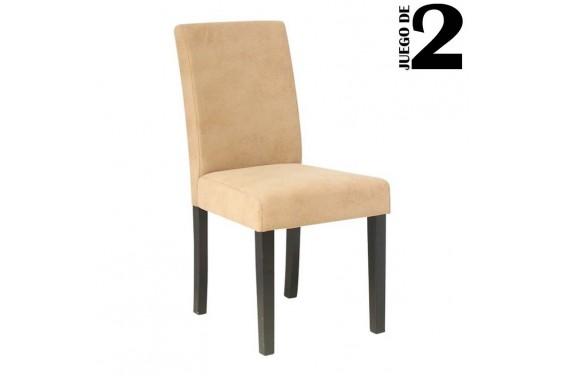 2 sillas salón SARA Beige 31€ /u.