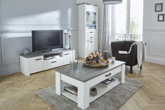 Mueble TV MARQUIS 2 Puertas 1 Cajón