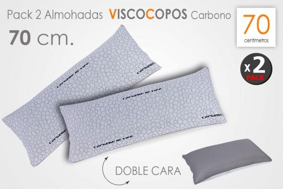 Pack 2 Almohadas VISCO COPOS 70 CM