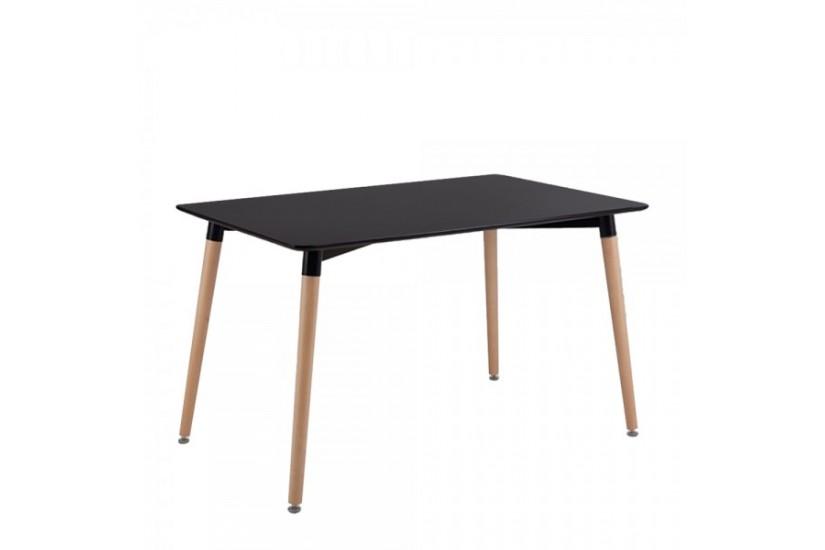 moderna mesa fija de sal n de 130x80 con patas en color