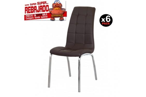 6 sillas salón FLORENCIA Negro 39€ /u.