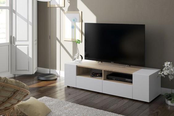 Muebles de sal n baratos muebles modernos atrapamuebles for Mueble compacto tv