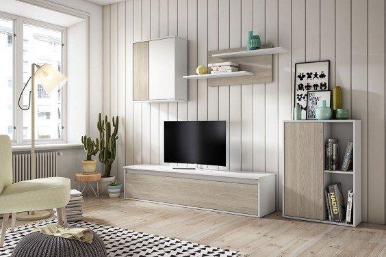 Muebles de sal n baratos muebles modernos atrapamuebles for Armarios de salon modernos