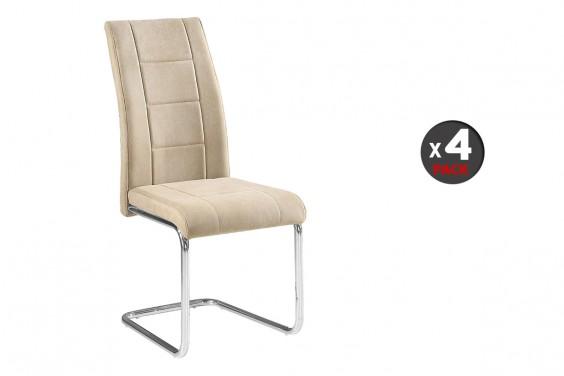 4 sillas salón SAN Beige (35€/u)