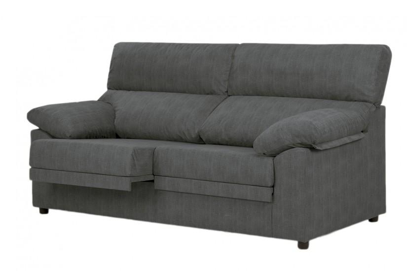 Sof 3 plazas miguel gris marengo al mejor precio for Combinar sofa gris marengo