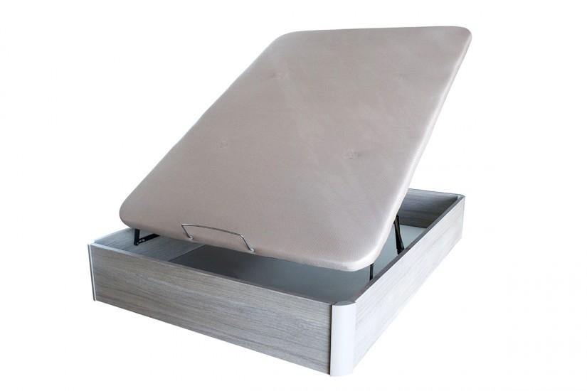 Canap xxl de 150x190 con base tapizada al mejor precio for Canape 150 x 200