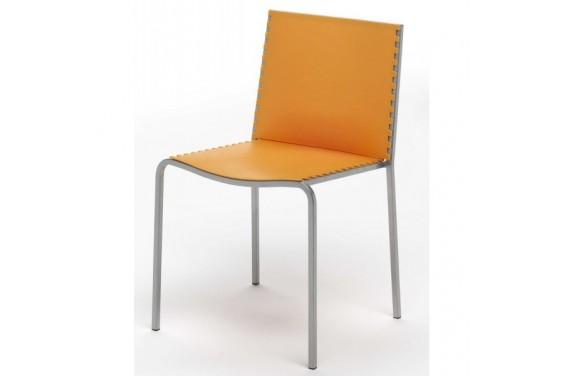4 Sillas comedor GENOVA  25€ /u.    -- color naranja