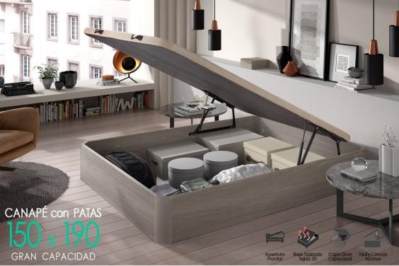 Canapé 150x190 BROKER Roble Nórdico