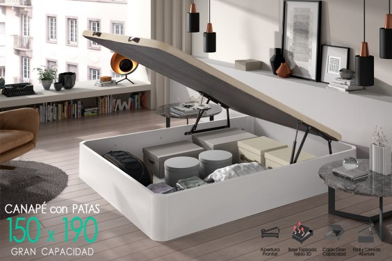 Canapé 150x190 BROKER Blanco