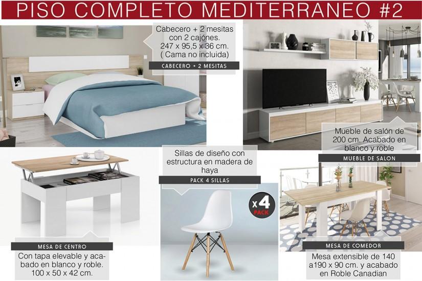 Muebles piso completo conforama elegant vendo muebles for Amueblar casa completa