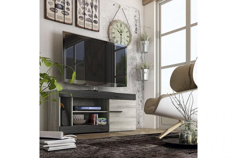 Muebles para tv originales trendy mueble bajo tv retro for Muebles tv originales