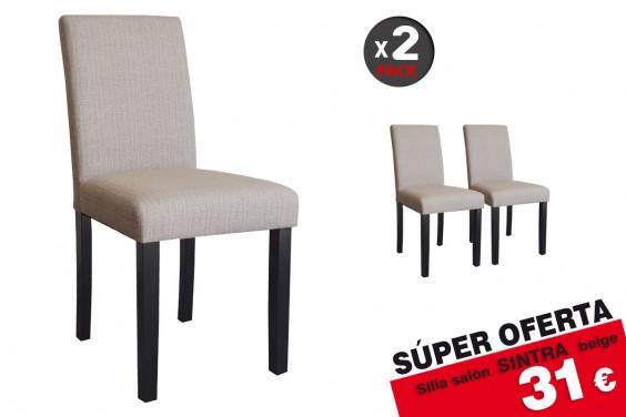 2 sillas salón Sintra Beige 31€ /u.