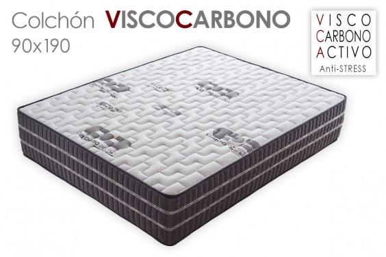 Colchón VISCO CARBONO 90x190