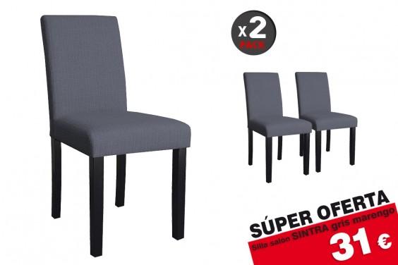 2 sillas salón Sintra Gris 31€ /u.