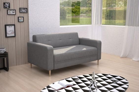 Sofa 3 Plazas AUDREY Gris