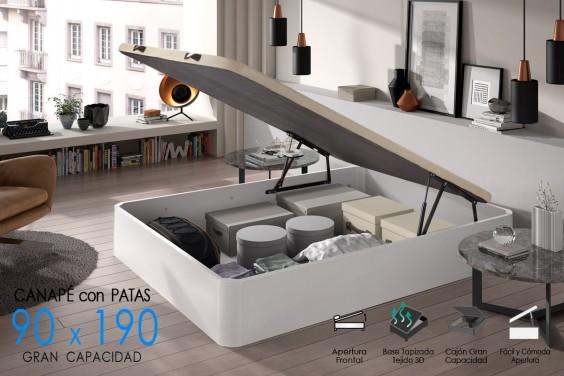 Canapé 90x190 BROKER Blanco