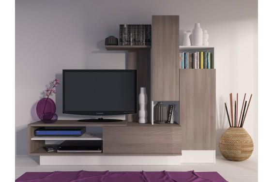 Mueble de salón compacto BCN5