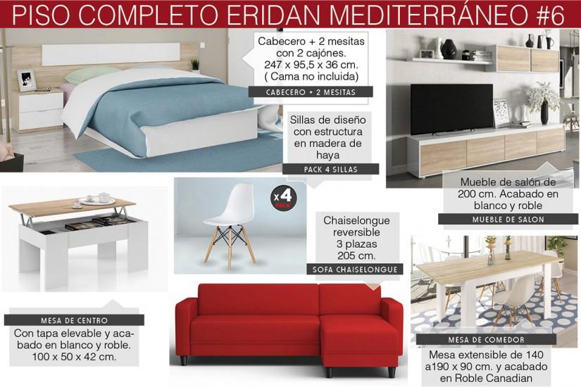 Piso completo 6 eridan mediterraneo atrapamuebles - Ofertas para amueblar piso completo ...