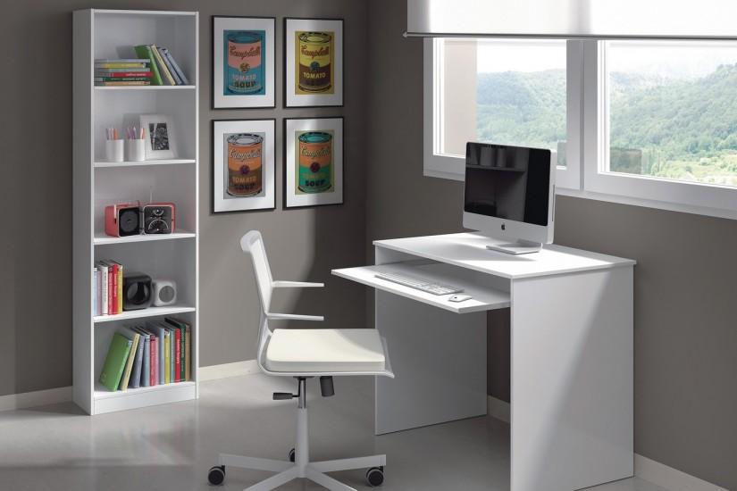 Mesa de ordenador con bandeja deslizable iplay al mejor precio for Mesas de ordenador amazon