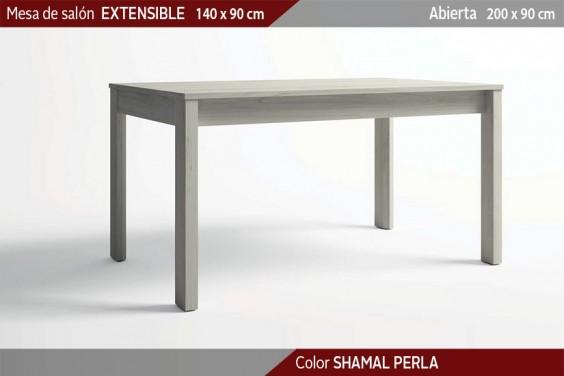 Mesa comedor STREET Extensible 140x90