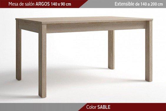Mesa comedor ARGOS Extensible 140x90