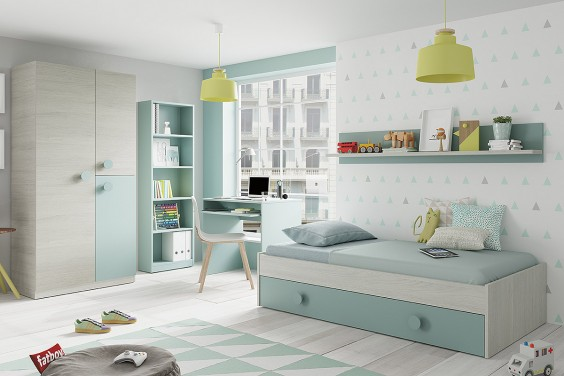Dormitorios Juveniles Baratos | Puff Baratos | Dormitorios Juveniles ...
