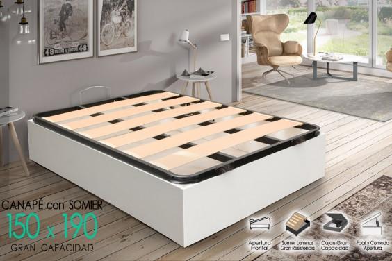 Canape 150x190 ECO Blanco