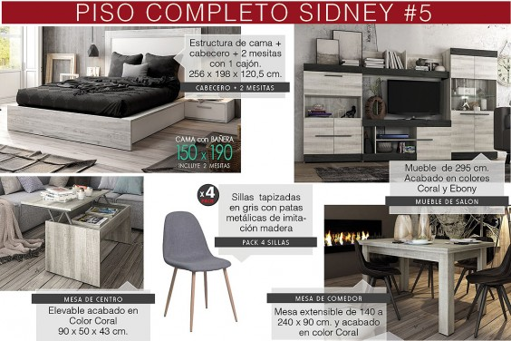 Piso completo 5 - SIDNEY