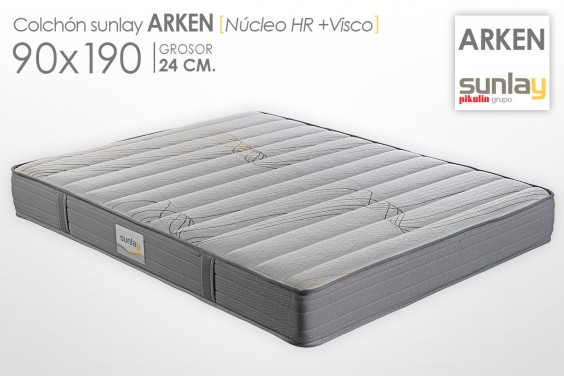 Colchón ARKEN Sunlay (Pikolin) 90x190