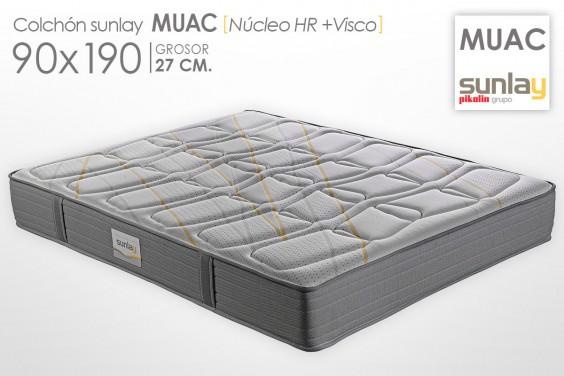 Colchón MUAC Sunlay (Pikolin) 90x190